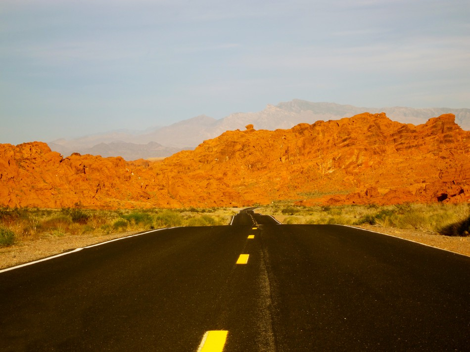 Valley of Fire, Névada, 2011