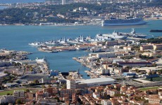 La rade de Toulon