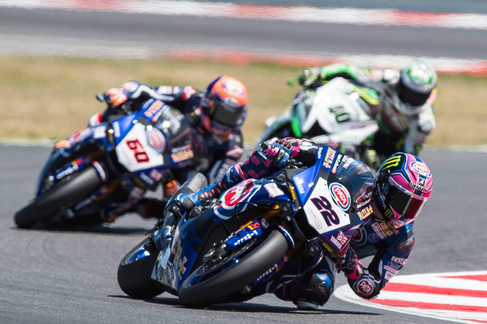 Alex Lowes (22), Michael van der Mark (60) et Roman Ramos (40)