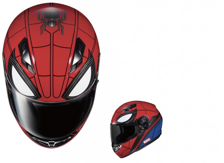 Parts-HJC-spider-man