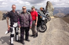 Richard, Rich et Bill au Col de la Bonette