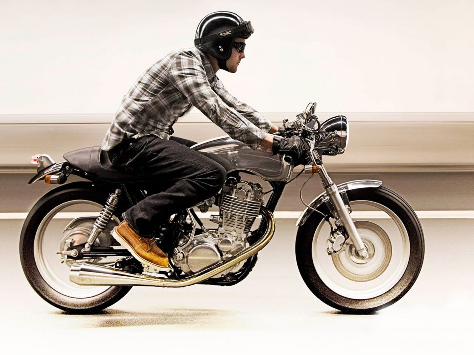 Motard hipster : une question de look