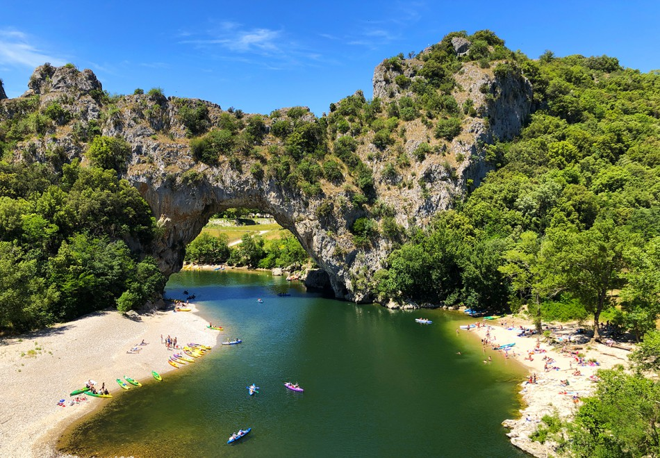 Vallon d'Arc, Ardèche, France