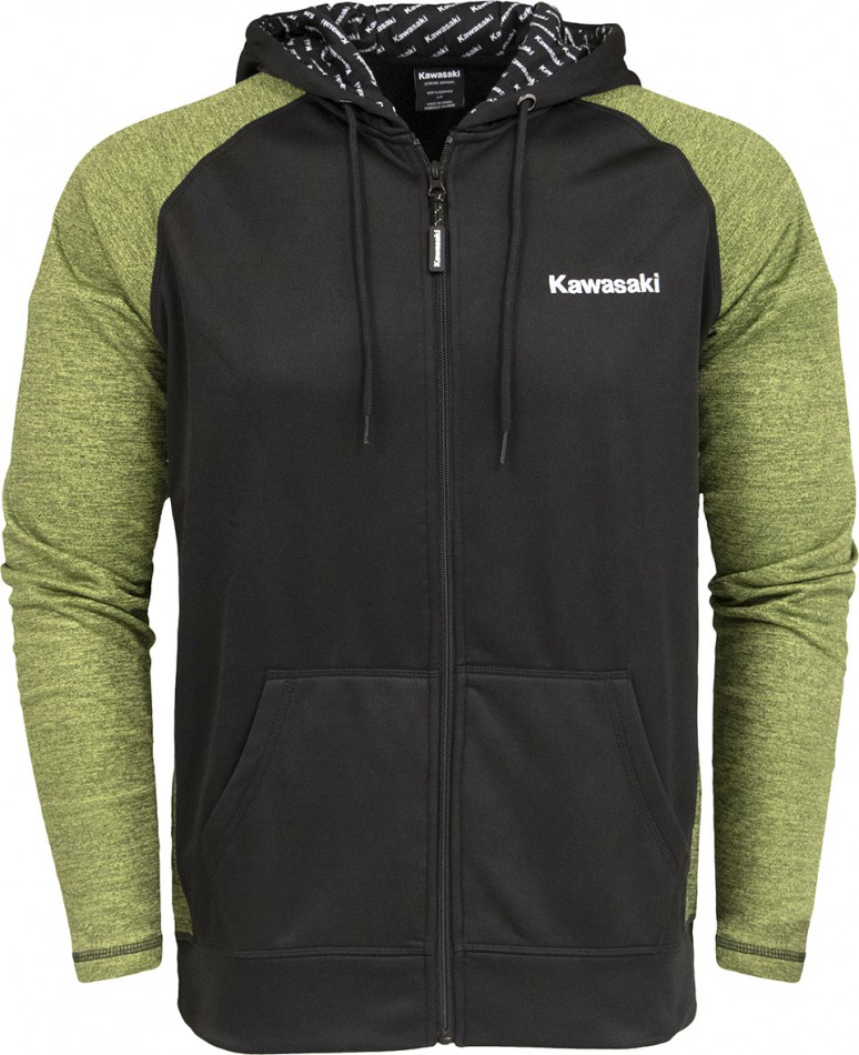 Kawasaki-Full-Zip-Hooded-Sweatshirt